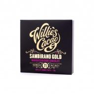 Czekolada 71% Sambirano Gold Madagaskar 50g Willie's Cacao