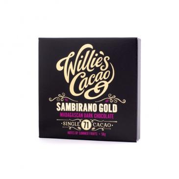 Czekolada 71% Sambirano Gold Madagaskar 50g Willie's Cacao WLC-003