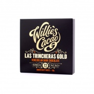 Czekolada 72% Las Trincheras Gold Wenezuela 50g Willie's Cacao