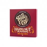 Czekolada z rodzynkami i orzechami 50g Willie's Cacao