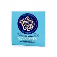 Czekolada z solą morską 50g Willie's Cacao