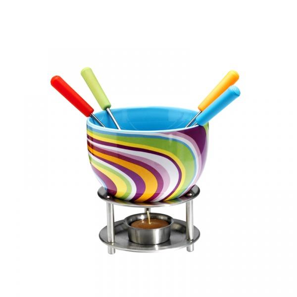 Czekoladowe fondue Mastrad kolorowe paseczki MA-F47521