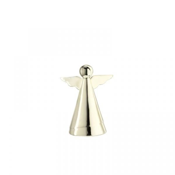 Dekoracyjny aniołek 12 cm Leonardo Glaciale szampański 062879