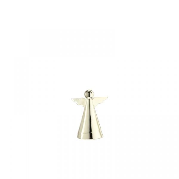 Dekoracyjny aniołek 9 cm Leonardo Glaciale szampański 062878