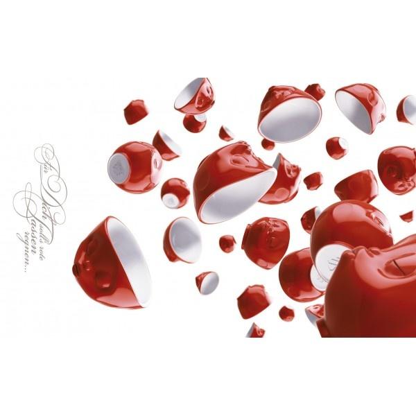 Deseczka do krojenia Led Red Cups Rain 23 x 14 cm TS-40109