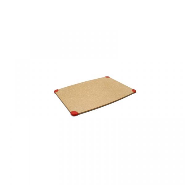 Deska antypoślizgowa Epicurean Recykling naturalna/czerwona 844809004070
