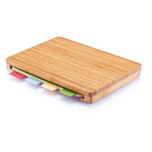 Deska bambusowa z matami do krojenia 4szt XDDesign XD-P261.219