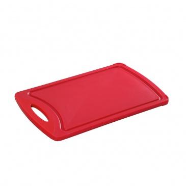 Deska do krojenia 32 cm x 20 cm Zassenhaus czerwona