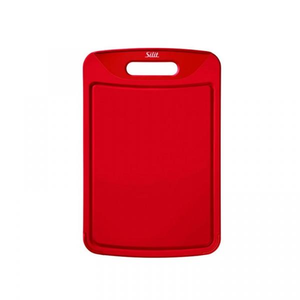 Deska do krojenia 38x25 cm Silit czerwona 21.4227.4681
