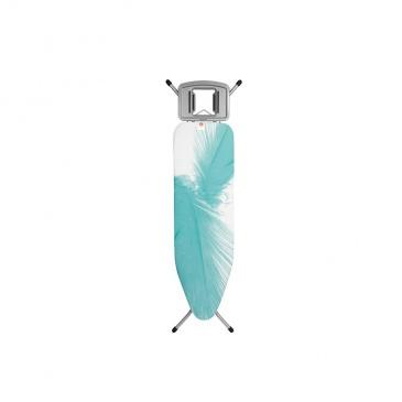 Deska do prasowania 161x49x7cm Brabantia Feathers biało-niebieska
