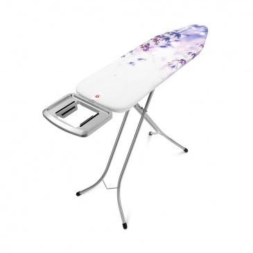Deska do prasowania 161x49x7cm Brabantia Lavender biało- fioletowa