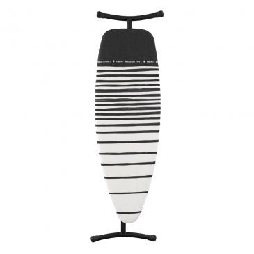 Deska do prasowania 164x47x9cm Brabantia Fading Lines biało-czarna