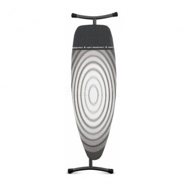 Deska do prasowania 164x47x9cm Brabantia Titan Oval szara