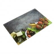 Deska kuchenna szklana 30x40cm Sycylia wielokolorowa