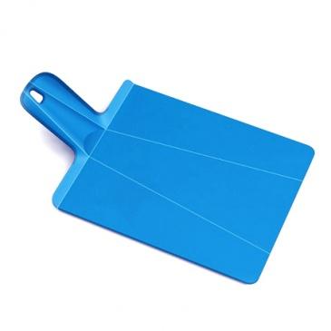 Deska składana Joseph Joseph Chop2Pot Plus mała niebieska