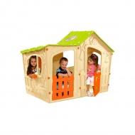 Domek dla dzieci 110x169x126cm Bazkar MAGIC WILLA jasny