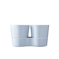 Doniczka na zioła podwójna Hydro Herb Nordic Blue 108616015700