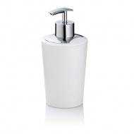 dozownik do mydła, 0,35 l, śred. 8 x 17 cm, biały