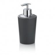 dozownik do mydła, 0,35 l, śred. 8 x 17 cm, szary