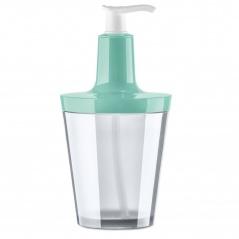 Dozownik do mydła 250 ml Koziol FLOW turkusowy/transparentny KZ-5879330