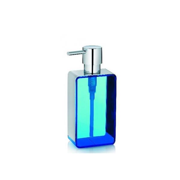 Dozownik do mydła Kela Enric niebieski KE-22630
