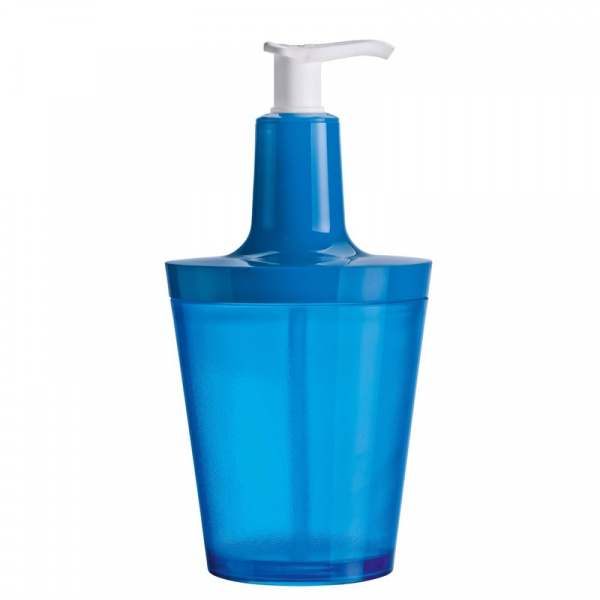 Dozownik do mydła Koziol Flow niebieski KZ-5879598
