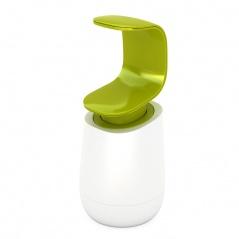 Dozownik na mydło 300ml Joseph Joseph C-Pump biało-zielony