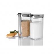 Dozowniki cukru i mleka 180g 250ml Adhoc Sweety przezroczyste