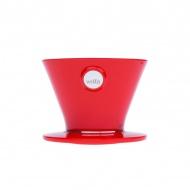 Dripper 9,6x12,7 cm Wilfa Pour Over czerwony