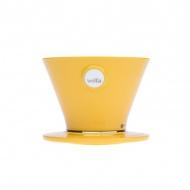 Dripper 9,6x12,7 cm Wilfa Pour Over żółty