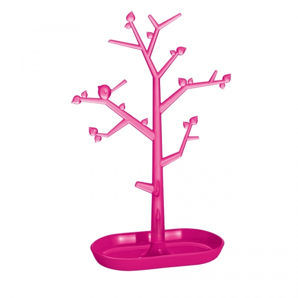 Drzewko na biżuterię Koziol Pi:p L różowe KZ-5262104