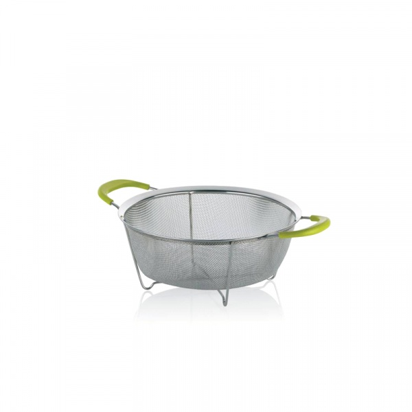 Durszlak 25,5 cm Kela Colino zielony KE-11301