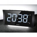 Duży budzik cyfrowy z nocnym podświetleniem i ręcznym ustawieniem kontrastu Sencor SDC 4930 W