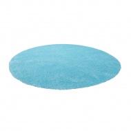 Dywan jasnoniebieski ø140 cm DEMRE