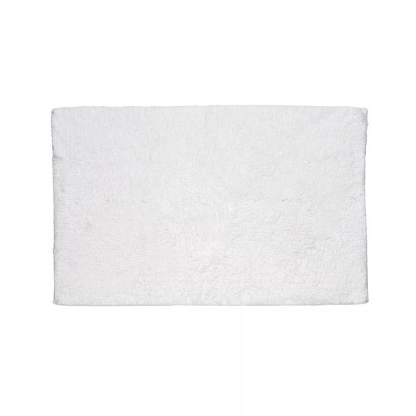 Dywanik łazienkowy 100 x 60 cm Kela Ladessa Uni biały KE-22471
