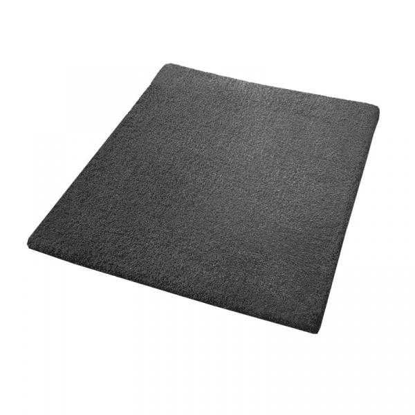 Dywanik łazienkowy 55 x 65 cm Kleine Wolke Kansas ciemnoszary KW-4018905539