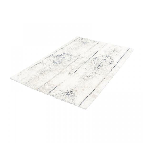 Dywanik łazienkowy 60 x 100 cm Kleine Wolke Caracas srebrnoszary KW-4065146360