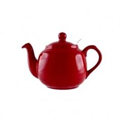 Dzbanek do herbaty z filtrem 0,6 l London Pottery czerwony