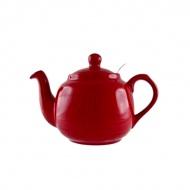Dzbanek do herbaty z filtrem 1,2 l London Pottery czerwony