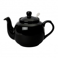 Dzbanek do herbaty z filtrem 600 ml London Pottery czarny
