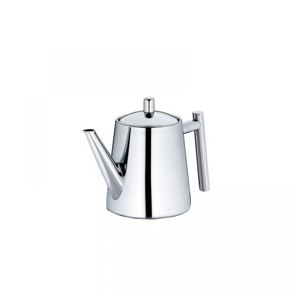 Dzbanek do herbaty z zaparzaczem 0,9 l Kela Ancona srebrny KE-11355