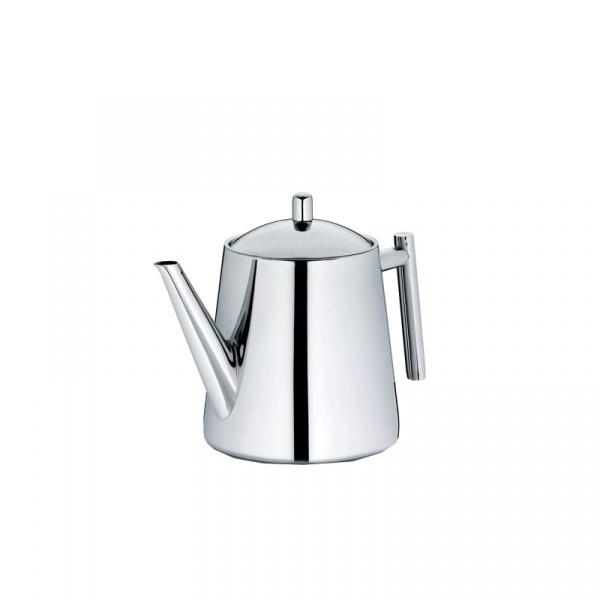 Dzbanek do herbaty z zaparzaczem 1,7 l Kela Ancona srebrny KE-11356