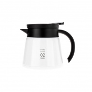 Dzbanek Insulated Stainless Steel Server V60-02 600ml Hario biały