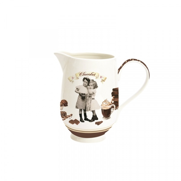 Dzbanek na czekoladę 1200 ml Nuova R2S Chocolate Vintage 1139 CHOV