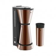 Ekspres do kawy + kubek termiczny WMF Electro KITCHENminis miedziany