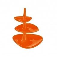Etażerka 27,1x24,4x24,1cm Koziol Betty pomarańczowa
