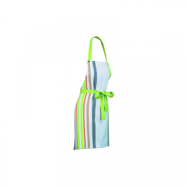 Fartuch Kela Stripes zielony KE-10707