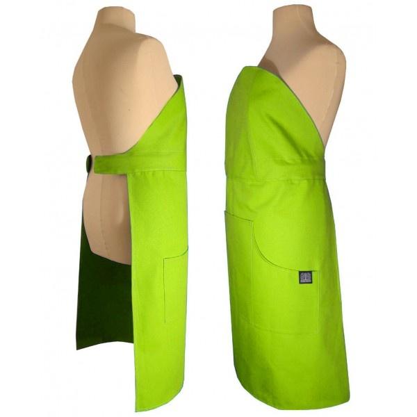 Fartuch kuchenny Nytta Design Click-on zielony NY-NDS-705-6