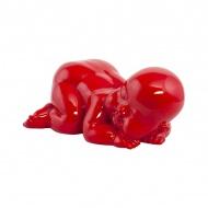 Figurka Cysgu Kokoon Design czerwony