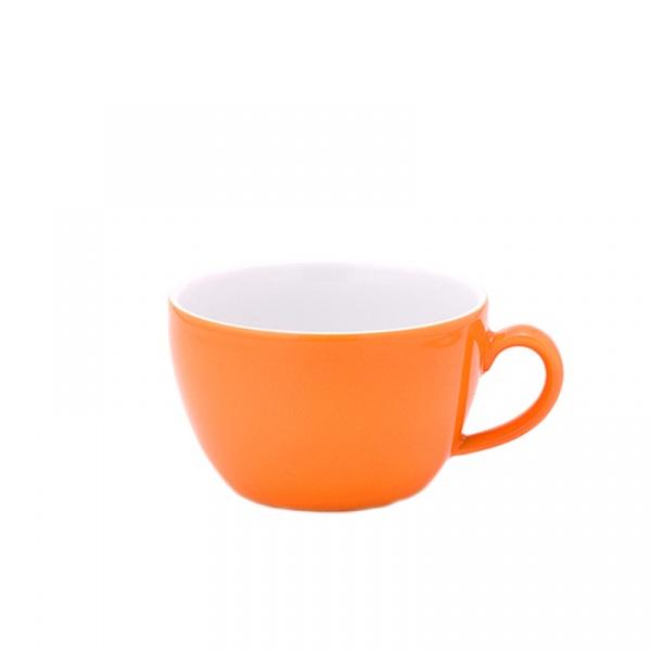 Filiżanka do cappuccino 0,25 l Kahla Pronto Colore pomarańczowa KH-204708A72556C